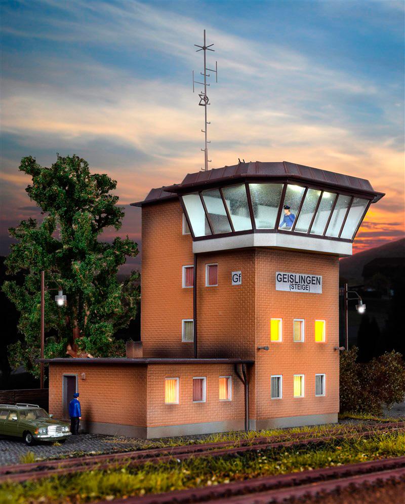 H0 Signal box Geislingen//Steige