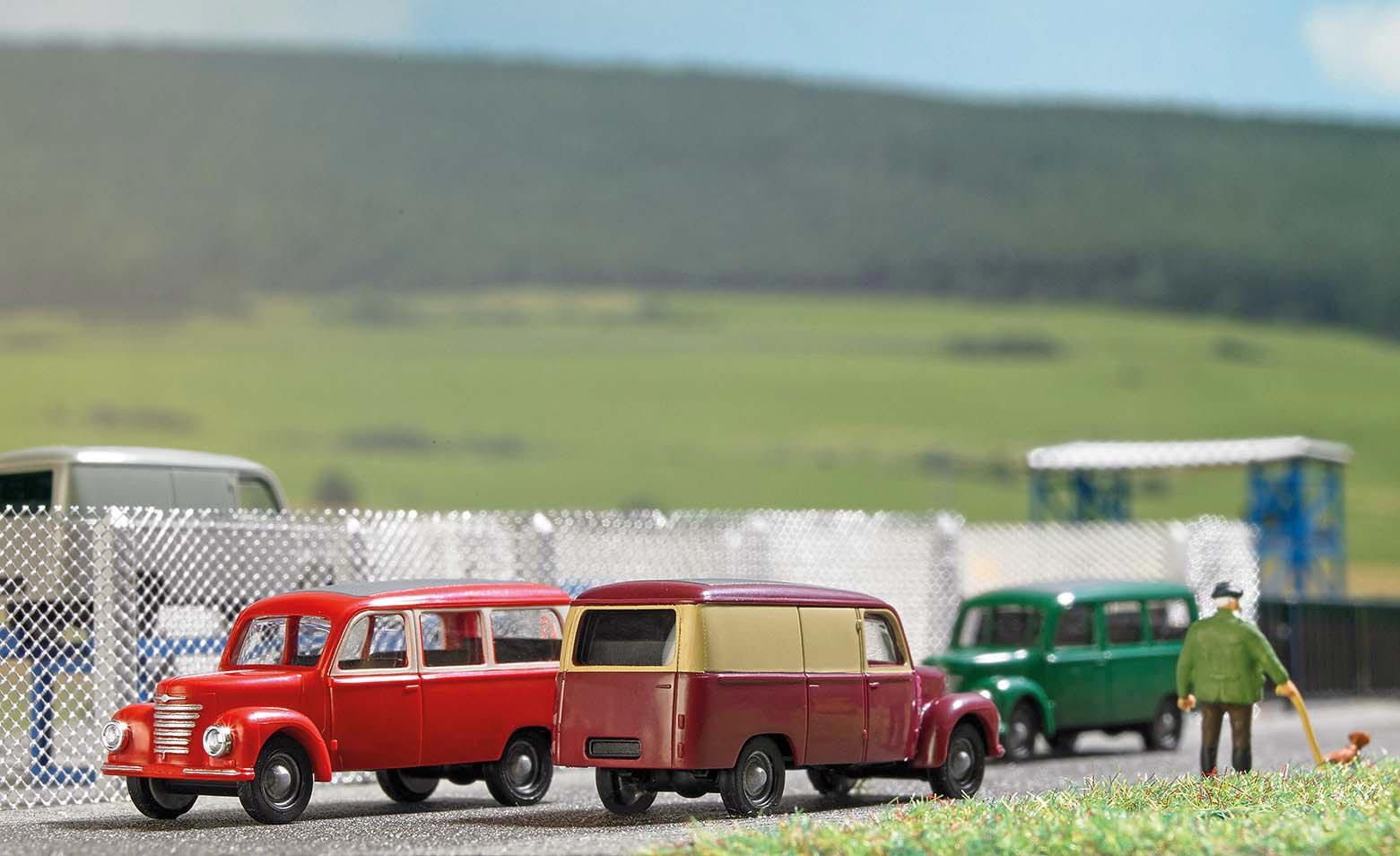 Busch 8683-1//120 TT Framo V901//2 Krankenwagen Neu Beige