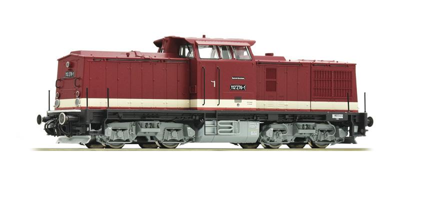 roco 73760 spur h0 diesellokomotive baureihe 112 der dr. Black Bedroom Furniture Sets. Home Design Ideas
