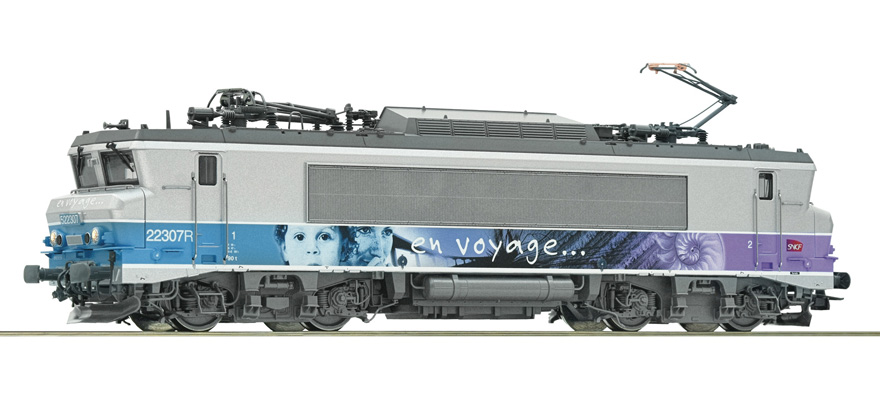 73880 Electric locomotive class BB 22200, SNCF