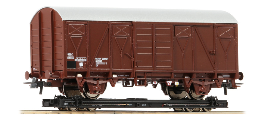 34575 H0e-roll wagon + Gbs