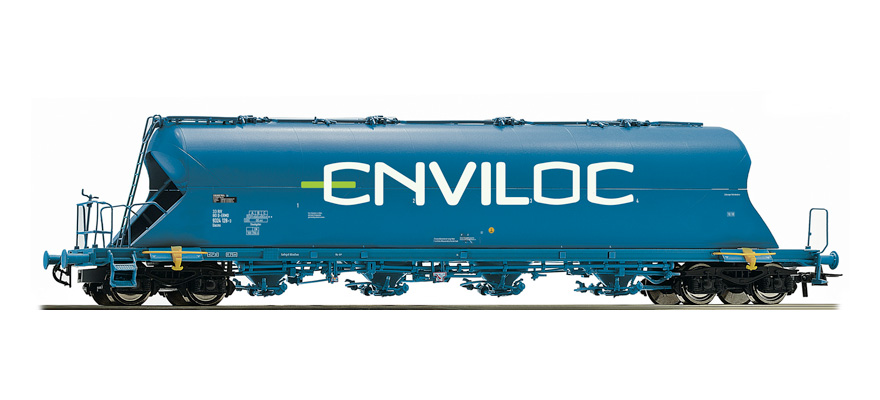 76706 Dust silo wagon, type Uacs