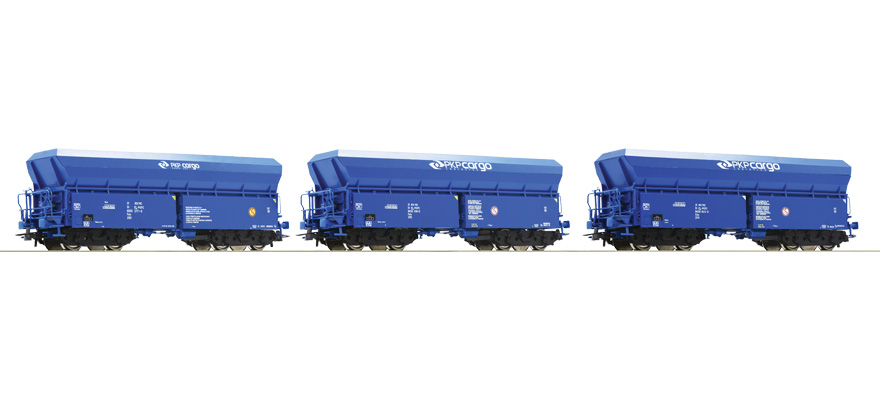76078 Set: Self-unloading hopper wagons
