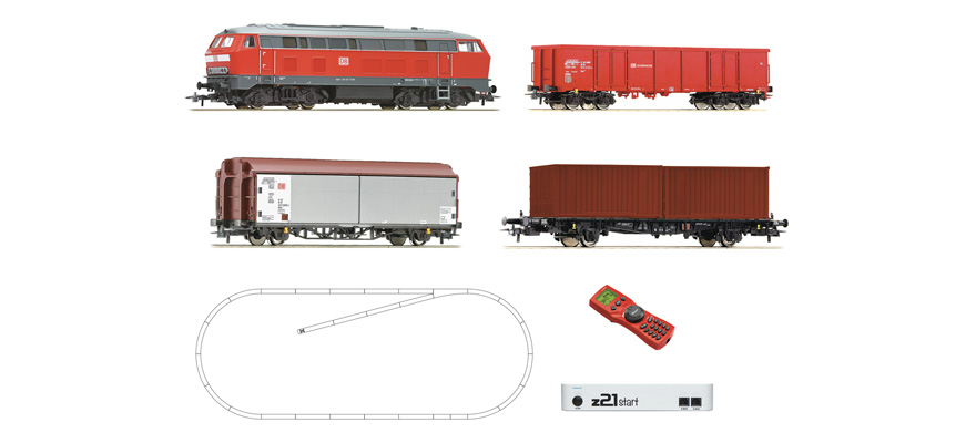 51312 z21start Digitalset: Diesellokomotive BR 218