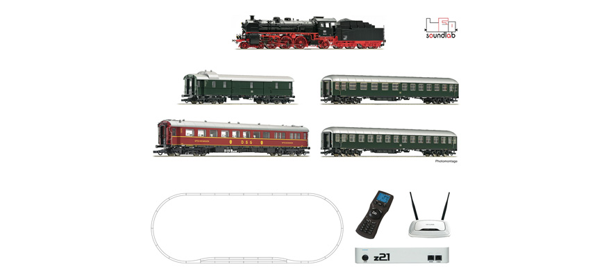 51313 z21® Digitalset: Steam locomotive class 18.6