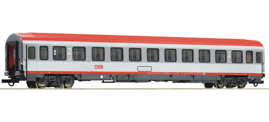 HOe Gauge Roco 34007 OBB Austrian Federal 2nd Class Coach European Passenger