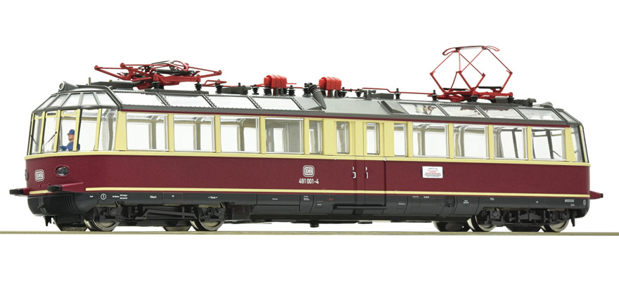 79197 Electric railcar 491 001-4