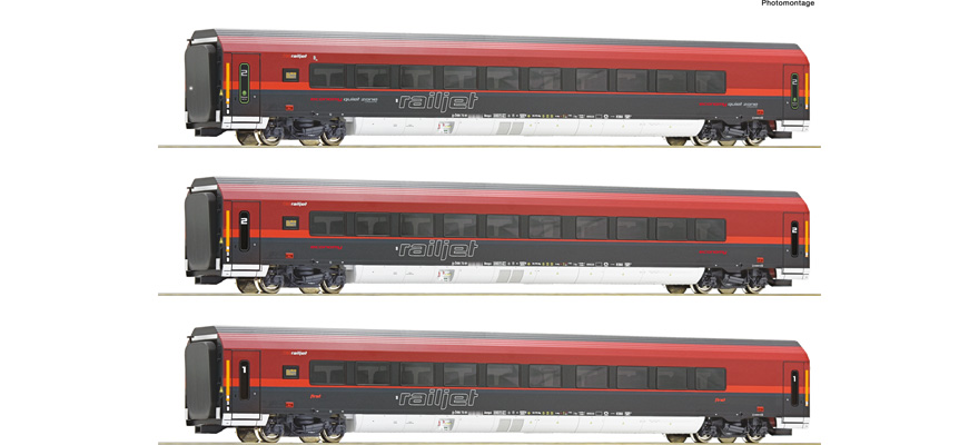 74086 3-tlg Set Railjet