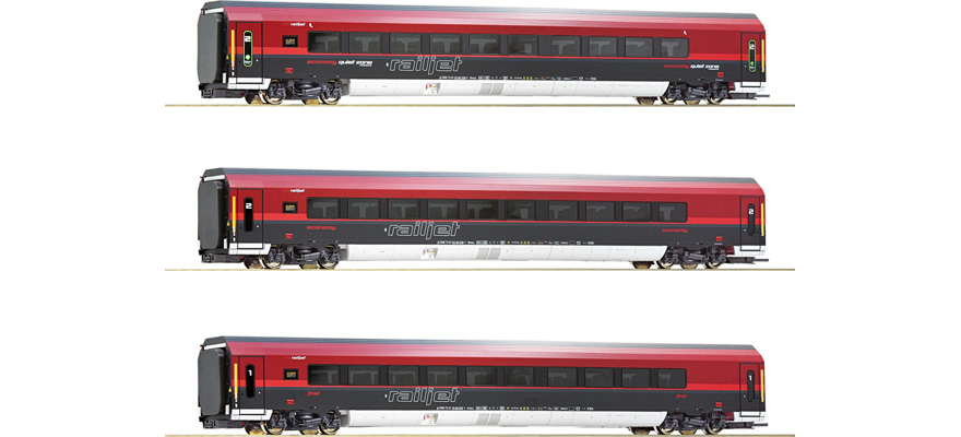 74087 3-tlg Set Railjet