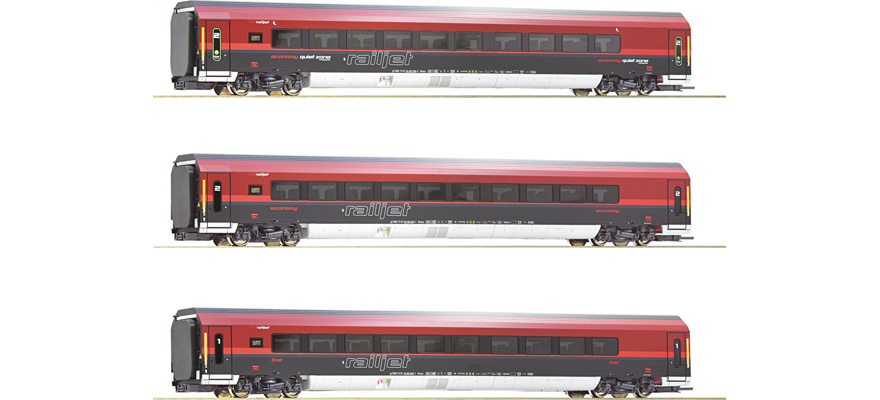 74088 3-tlg Set Railjet