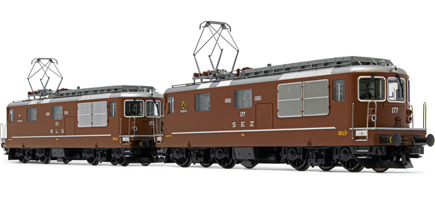 HR2813S Set Elektrolokomotiven Re 4/4