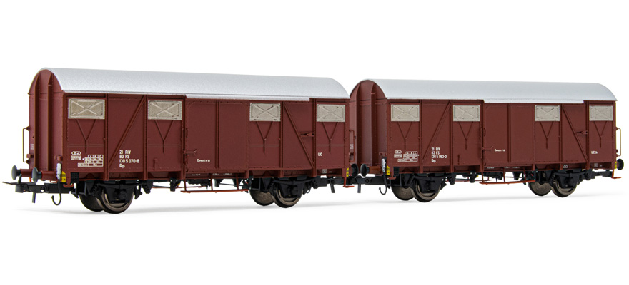 HR6505 closed wagons Gs set