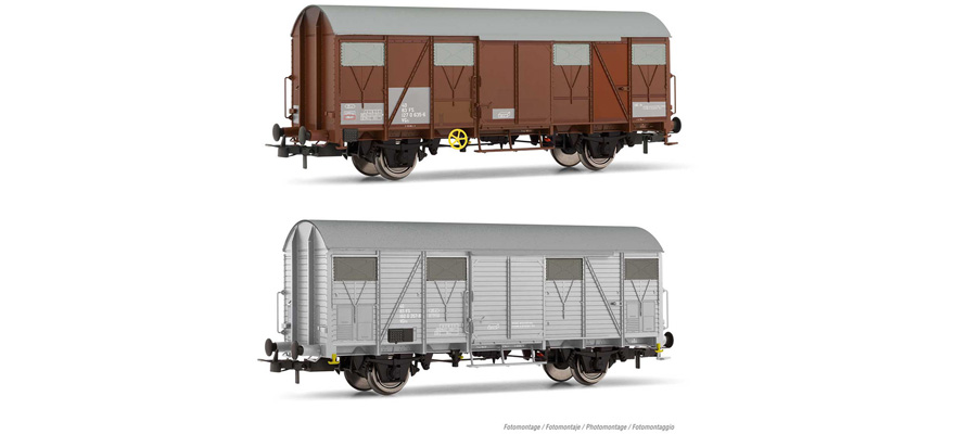 HR6508 set of service wagons