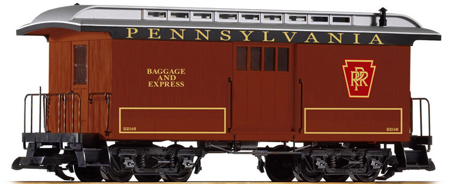 38627 Wood Baggage Car
