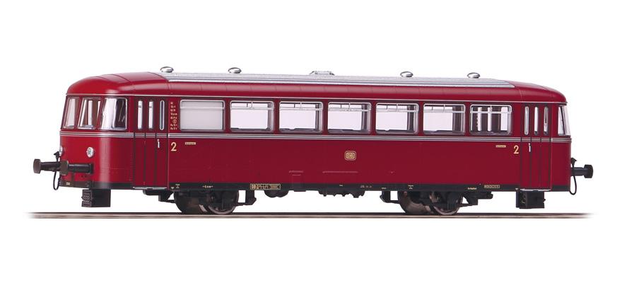 PIKO 59616 Schienenbus-Bei/Packwagen