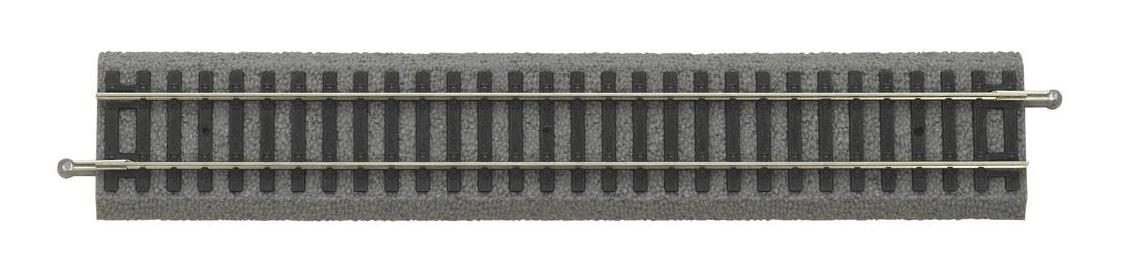 G 231 mm NEUWARE 1 x Piko H0 55401 Piko A-Gleis Gerade mit Bettung
