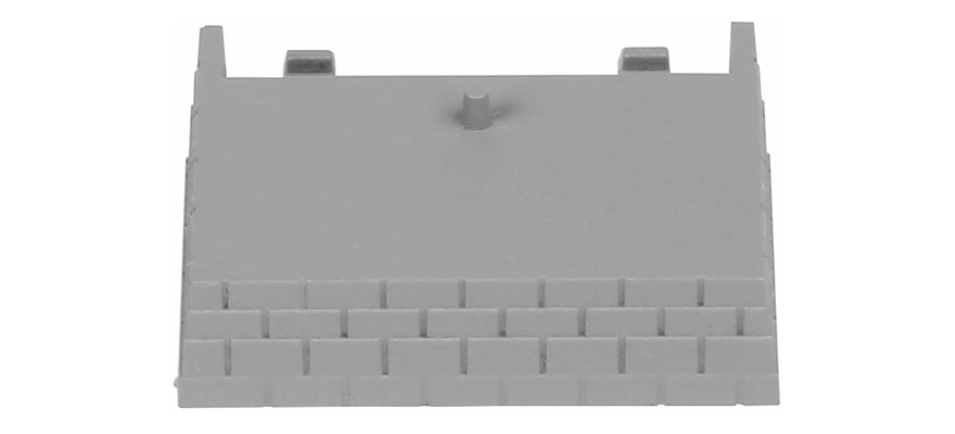 55447 Ballast siding for connection clip