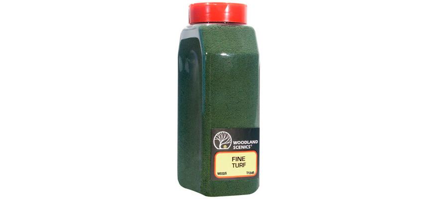 Woodland Scenics T45 Streumaterial für Gras mittelgrün fein 52 g