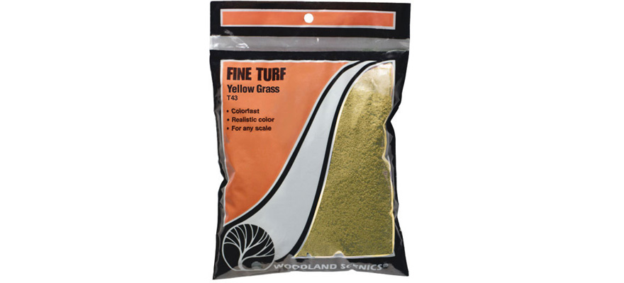 WT43 Yellow Grass Fine Turf