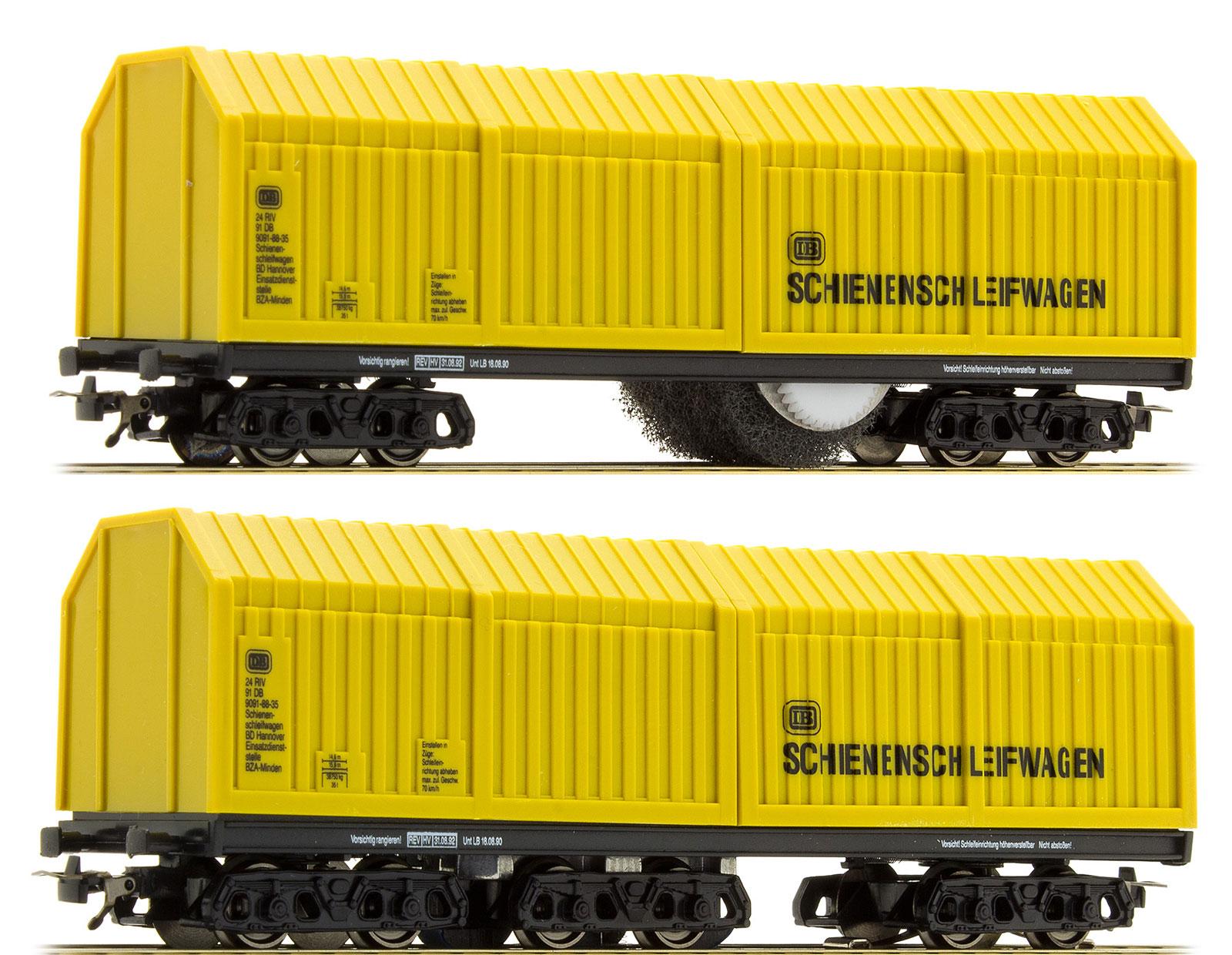 Lux 9130 h0 ferroviario y oberleitungsschleifwagen ac ~ System nuevo en OVP