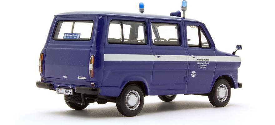 minichamps 400082491 spur 0 ford transit bus 1971 thw. Black Bedroom Furniture Sets. Home Design Ideas