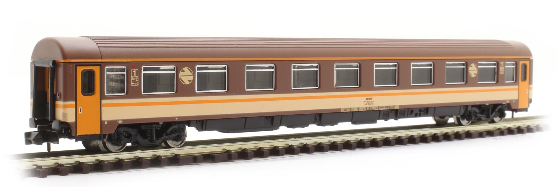 Kl Ep IV 1 Arnold Reisezugwagen Serie 10000 RENFE Estella-Farbgebung