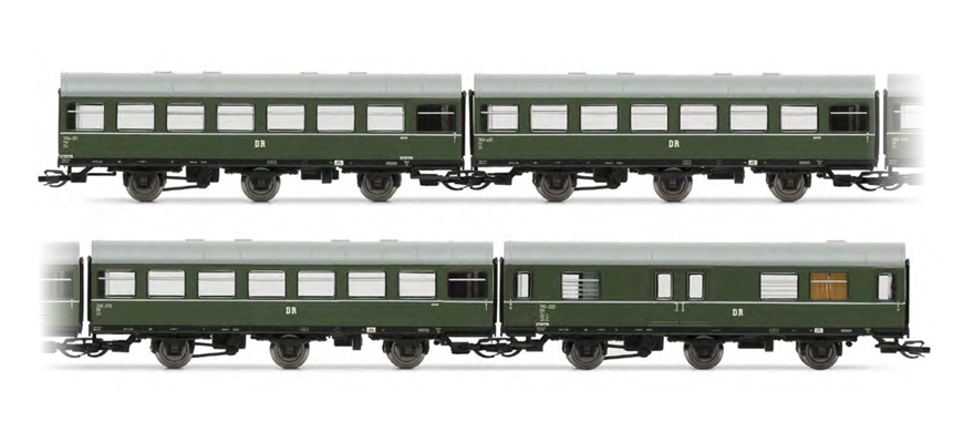 "HN9509 4-part ""Rekowagen"" car set"