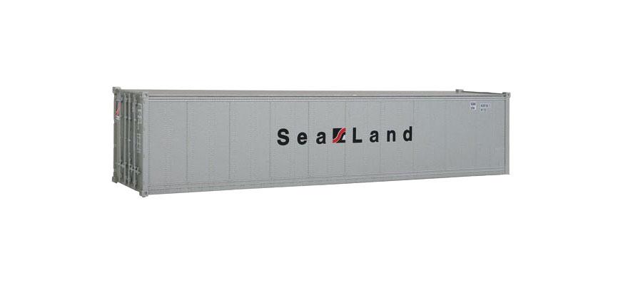walthers 532156 spur h0 40 fu container sea land epoche iv fertigmodell. Black Bedroom Furniture Sets. Home Design Ideas