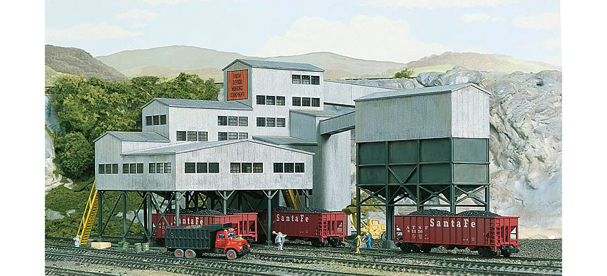 WALTHERS 533221 Gauge N New River Mining Company -- Kit