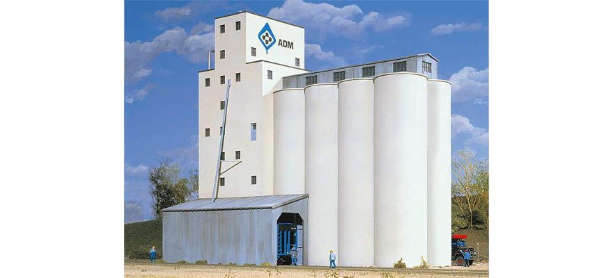 WALTHERS 533225 ADM(R) Grain Elevator -- Kit