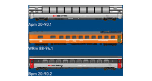 H0, courant continu / 2 rails, SBB