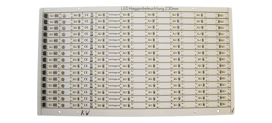 modellbahnshop-lippe.com Schönwitz 01-03-17-07 LED Waggonbeleuchtung