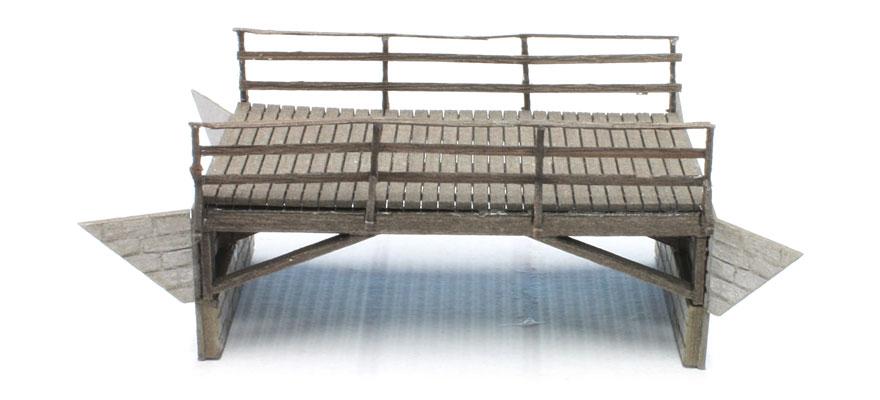 Bausatz kleine Holzbr/ücke Spur H0