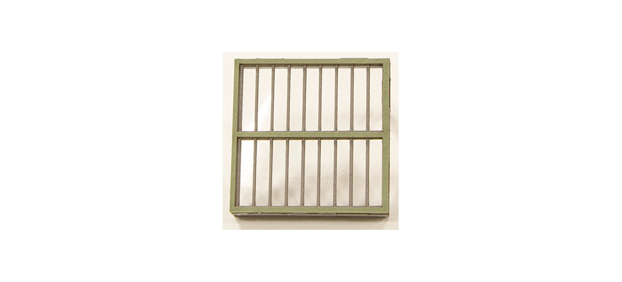 Joswood 17125 1/2 Window element, double row, 6 pieces