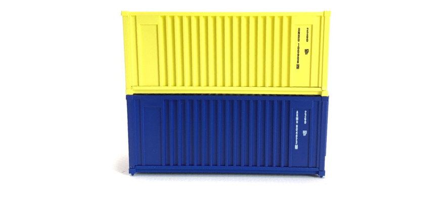 98010103 Container Set 20 ft - Baucontainer (2St.)