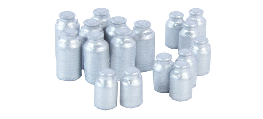 222.66 17 milk cans