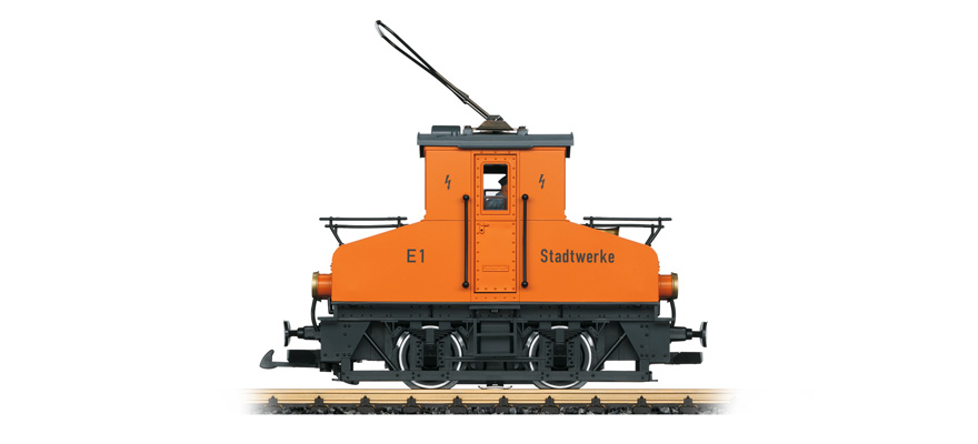LGB 20301 small electric locomotive