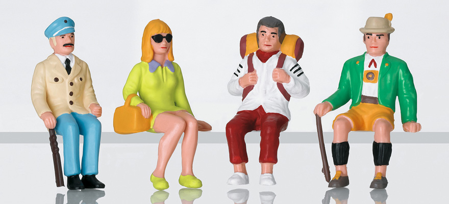 53007 Figure set tourists