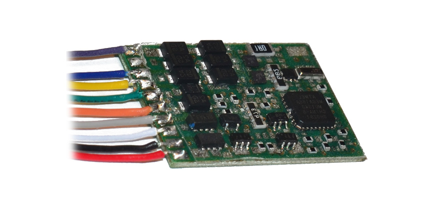 Viessmann H0 Lokdecoder mit Kabel 5244