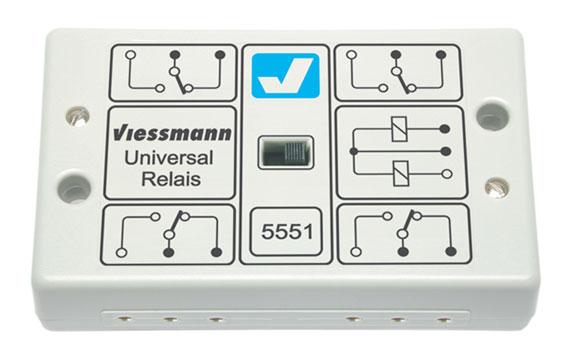 viessmann 5551 universalrelais toebehoren elektrische. Black Bedroom Furniture Sets. Home Design Ideas