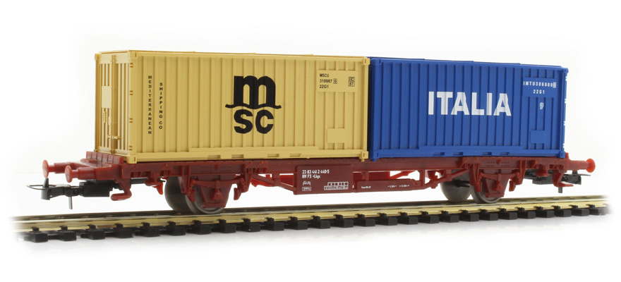 HL6111 Wagon with container