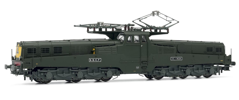 /Electric Locomotive cc14129/SNCF Version Digital Sound hj2346s Jouef/