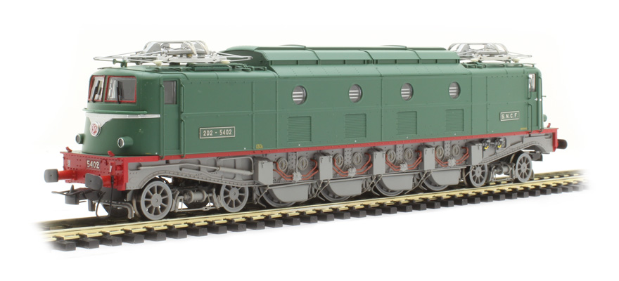 HJ2368S 2D2 5402 in light green livery, with Sound