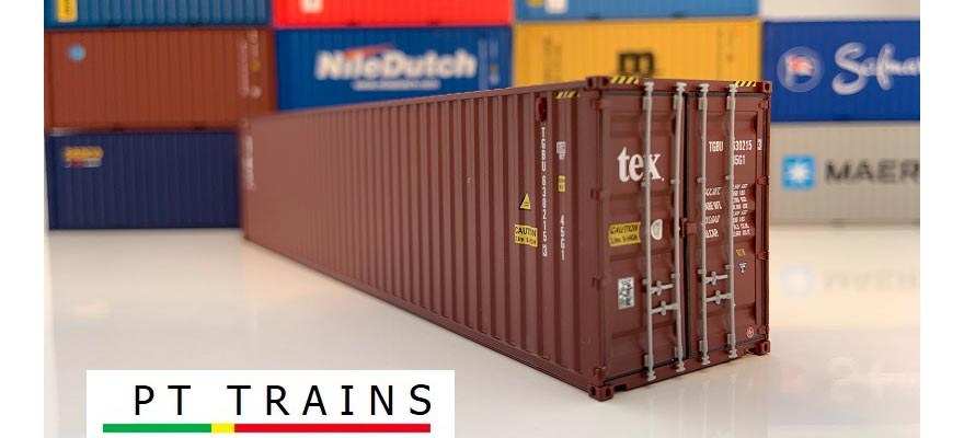 840008 Container 40ft HC TEX (TGBU6302153)