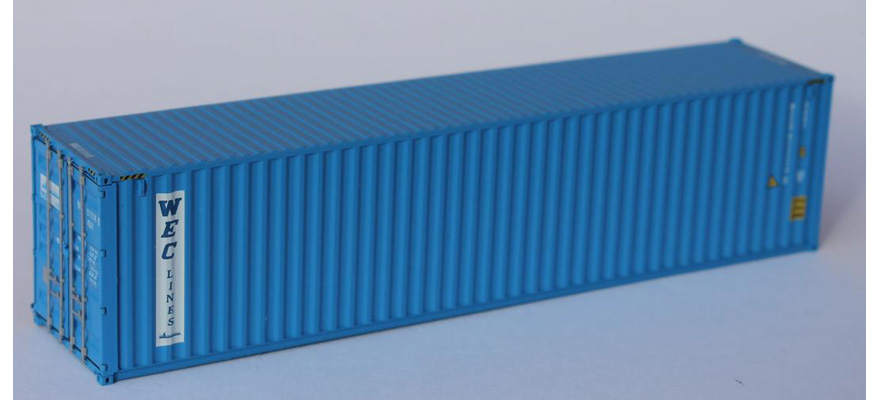 840010 Container 40ft HC W.E.C. LINES (WECU9111149)