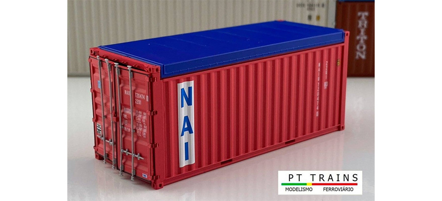 PT TRAINS 820505 Container 20ft OPEN TOP TEX