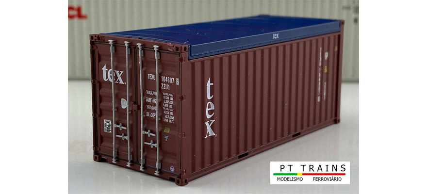 820508 Container 20ft OPEN TOP LINEA MESSINA