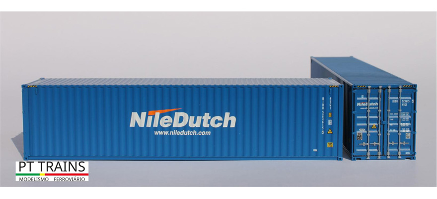 840013 Container 40ft HC NILE DUTCH