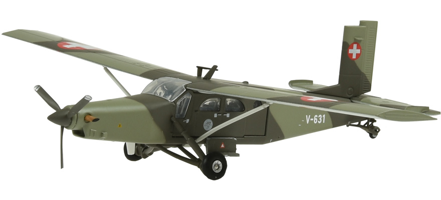 881603 1/72 V-631 Pilatus PC-6 Turbo