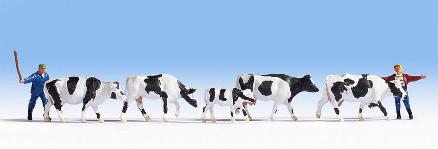 NOCH 15724 Drover & Cows